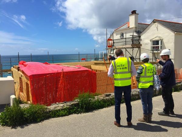Marraum Architects_Cornwall_Site visit