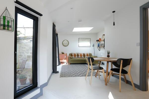 Märraum Architects_Falmouth_Garage conversion_living