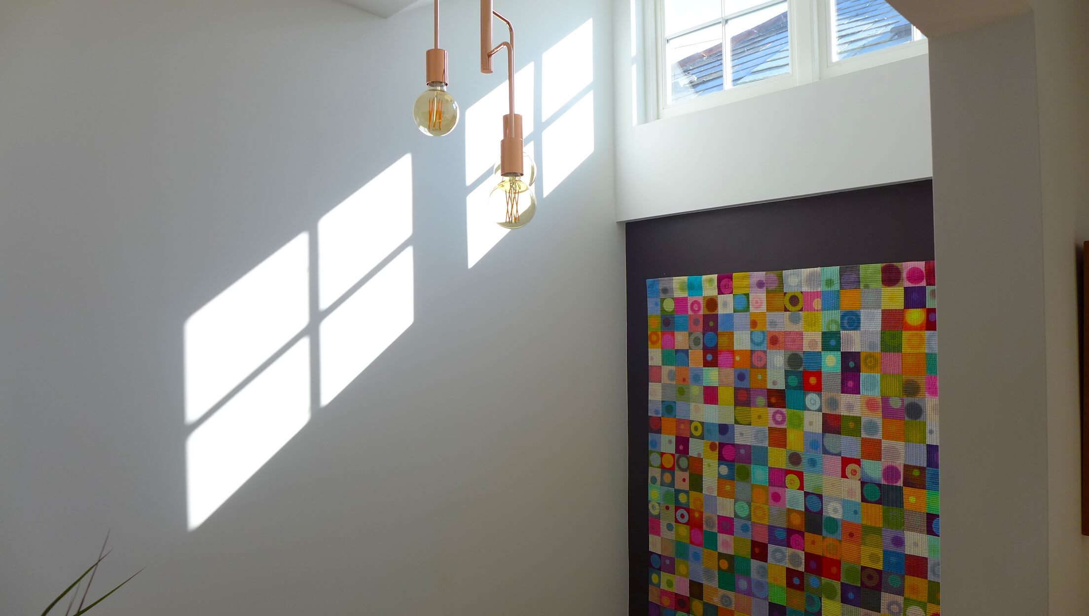 Märraum Architects_Falmouth_Town house renovation_light stairwell