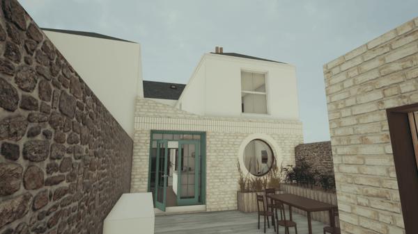 Märraum Architects_20 Florence Terrace_Rear Extension_Falmouth_cgi