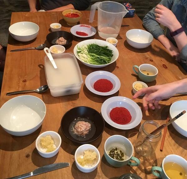 Marraum Korean food